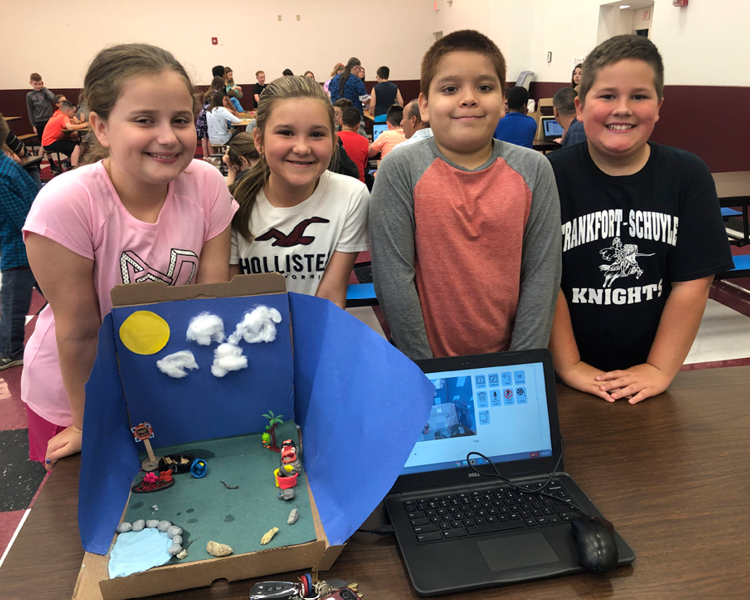 Fifth Graders Create Informational Stop Motion Documentary
