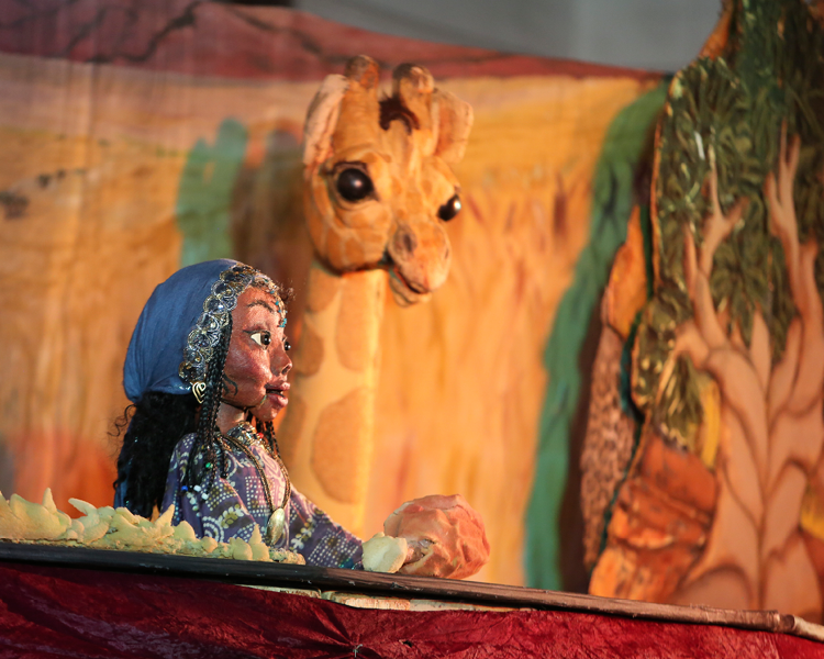 "Catskill Puppet Theater Presents ""The Lion's Whiskers"" for Elementary Students"