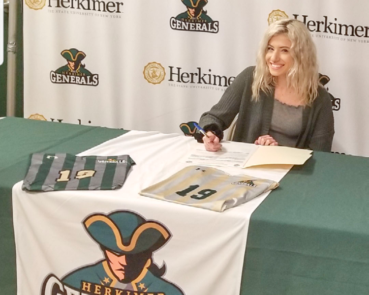 Frankfort-Schuyler's Madia Signs Letter of Intent to Play at Herkimer College
