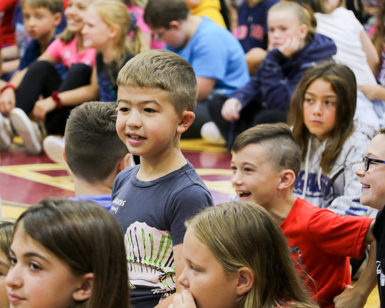 Frankfort-Schuyler Elementary School Hosts Brian Chevalier Character Education/ Anti-Bullying Assembly