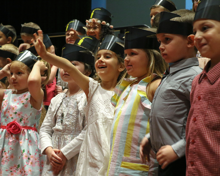 Photo Gallery - Kindergaten Moving Up Ceremony