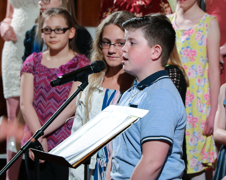 Photo Gallery - Middle School Chorus Concert
