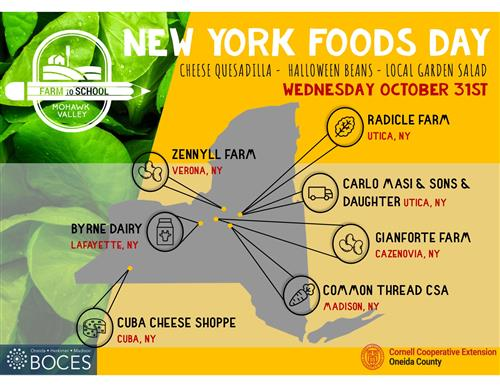 NY Food Day Oct 2018