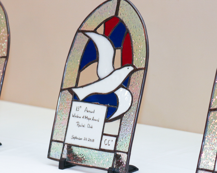 Friends of Rachel Club Honored by Catholic Charities with Window of Hope Award